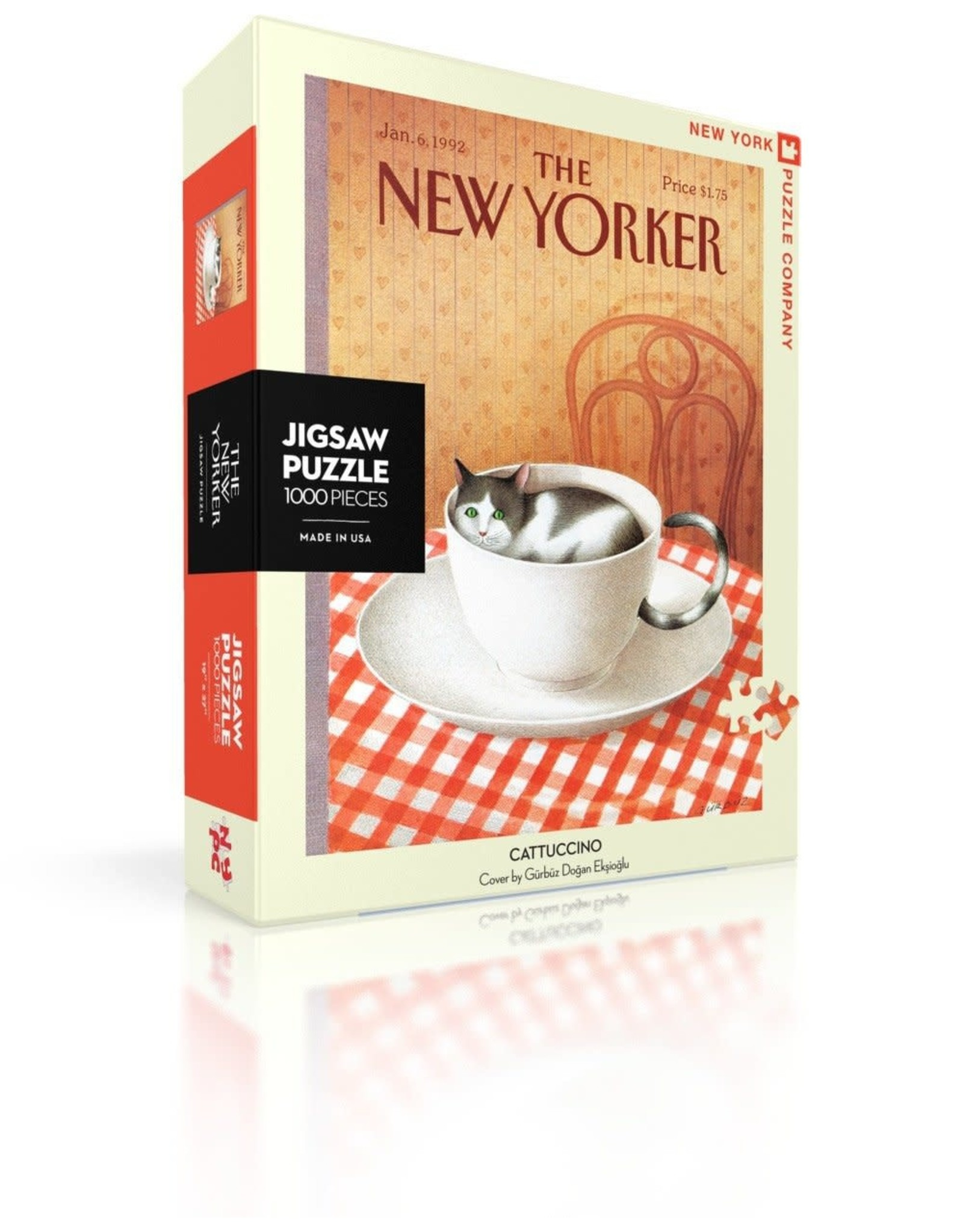 New Yorker Puzzle - Cattuccino