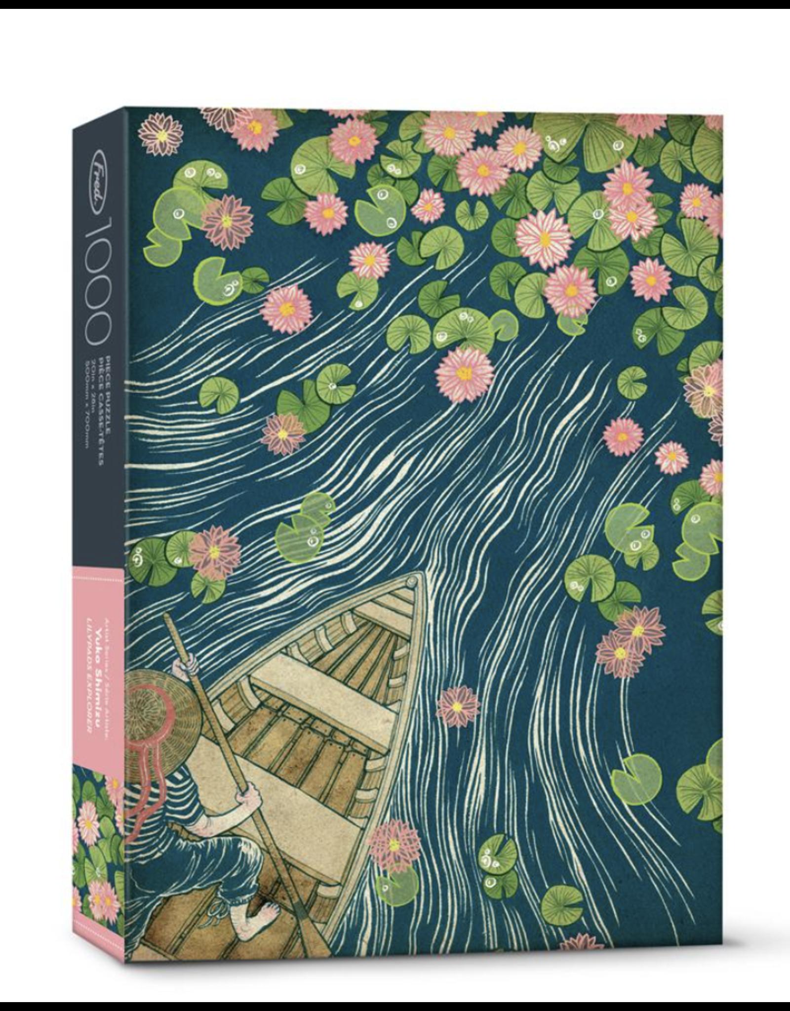 Shimizu Lilypads Puzzle - 1000 Pcs