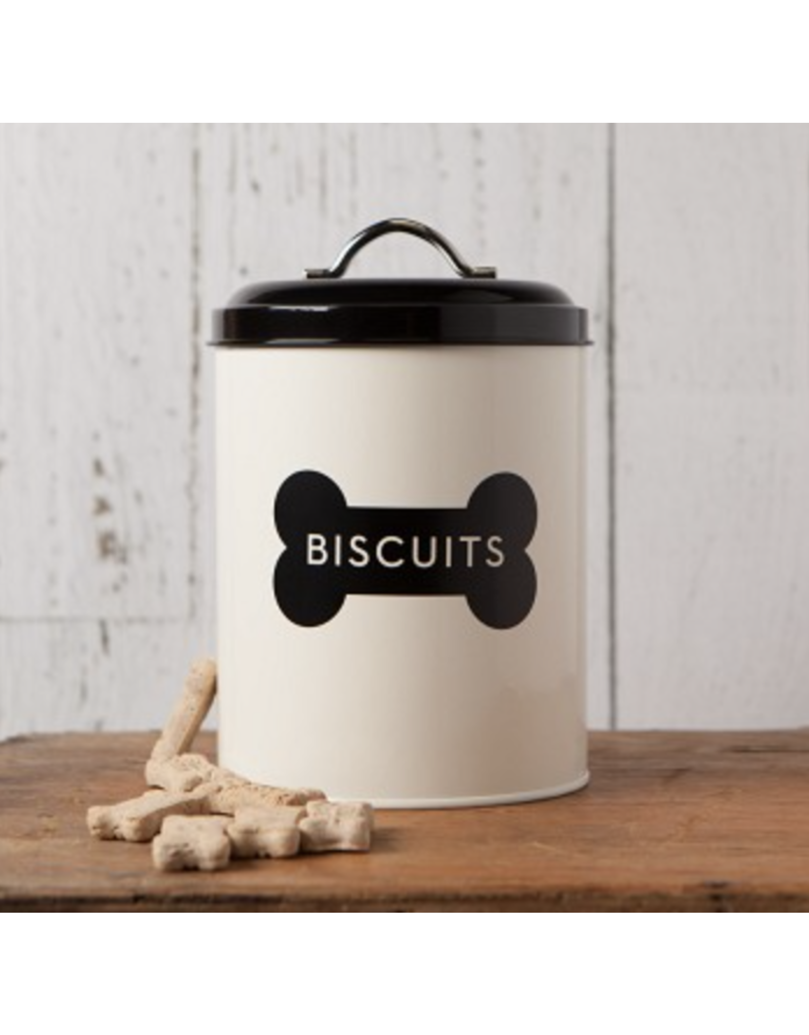 Ivory Dog Biscuit Tin