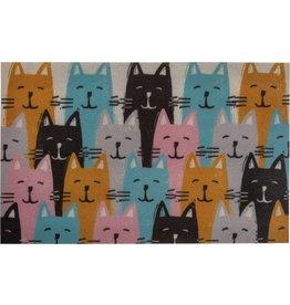 Kitties Pet Bowl Mat