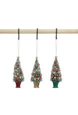 """5"""" Bottle Brush Tree in Urn Ornament"""