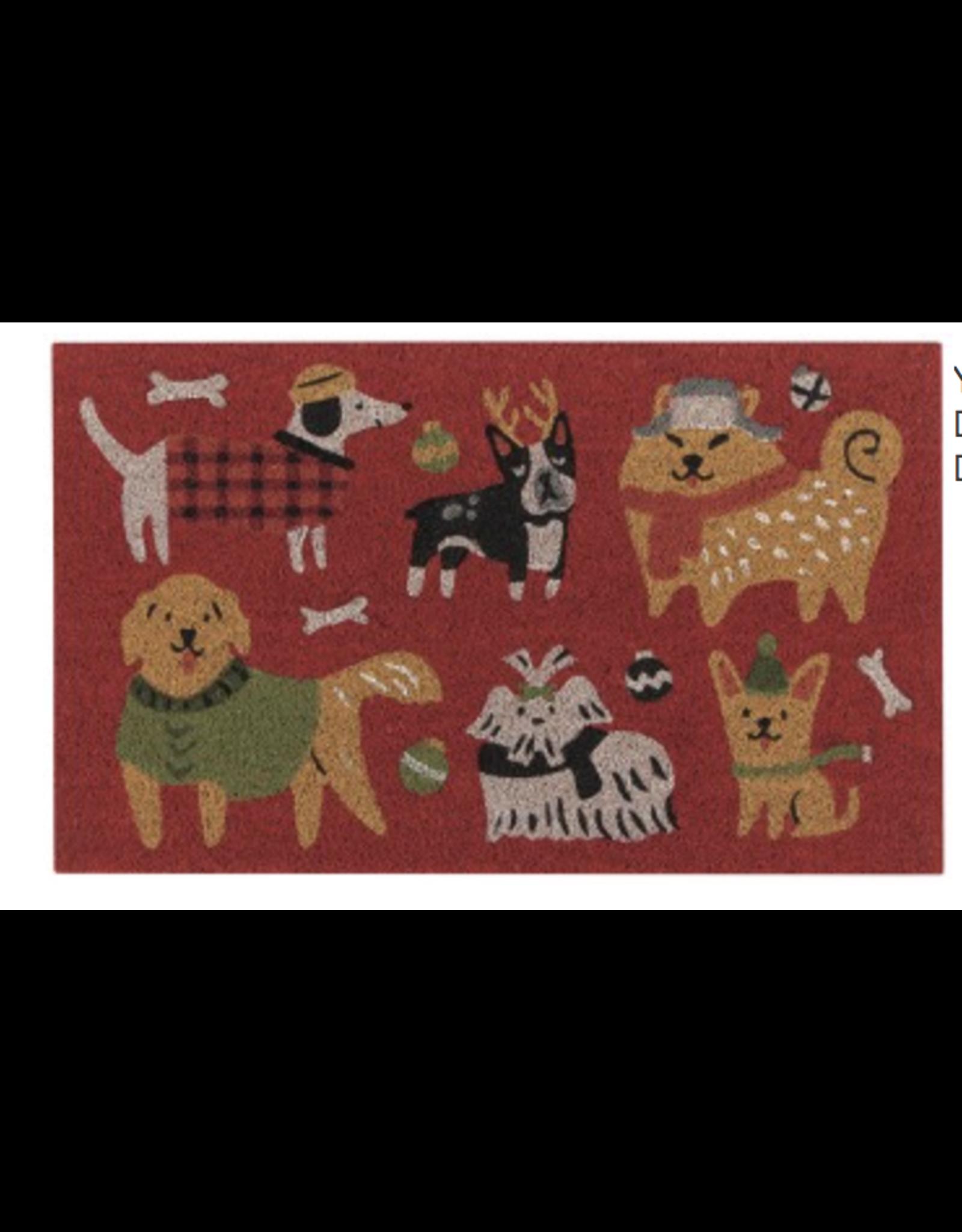Yule Dogs Doormat