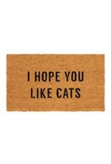 I Hope You Like Cats Doormat