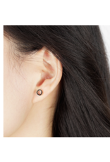 jj + rr Open Circle Stud Earrings