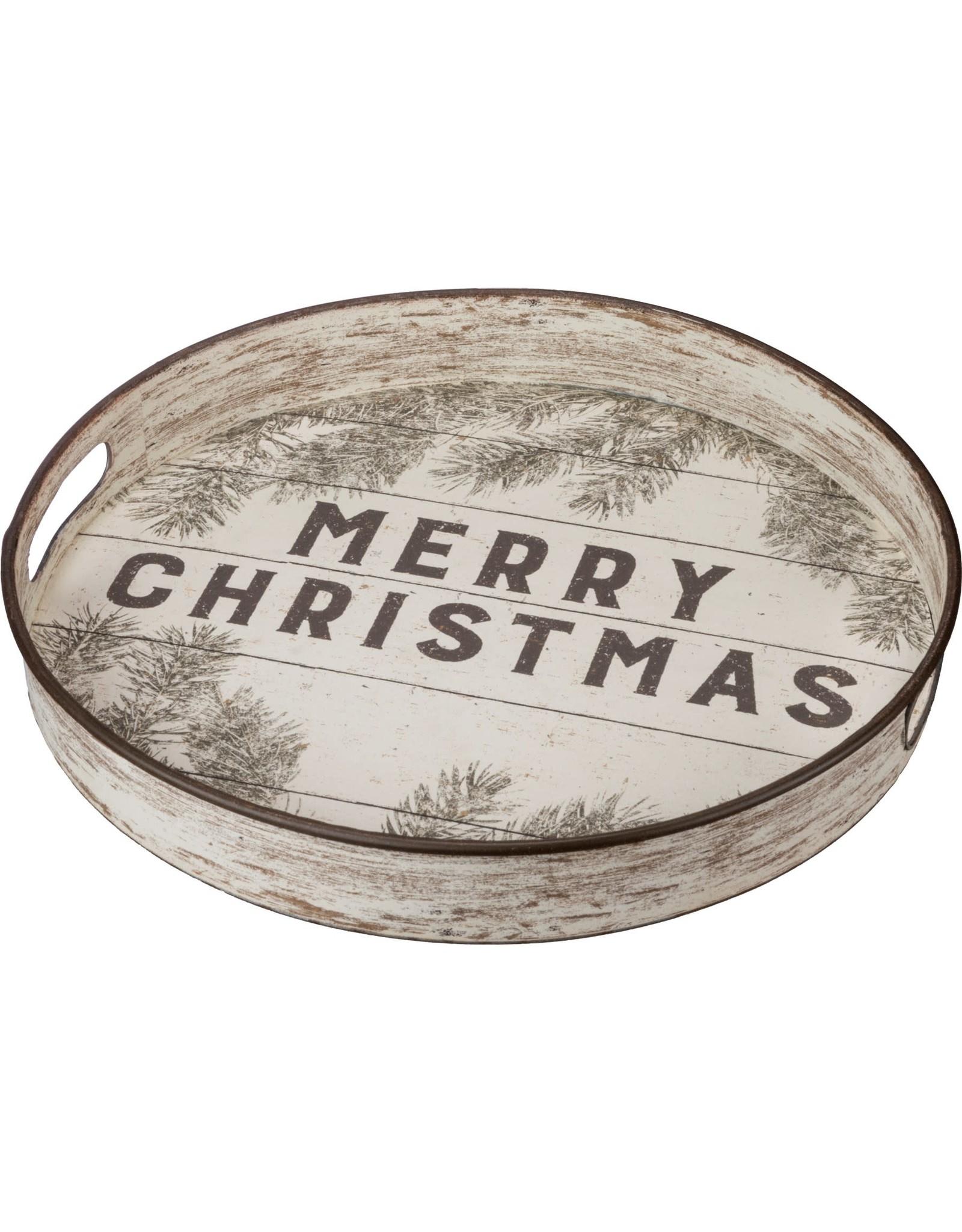 Merry Christmas Tray