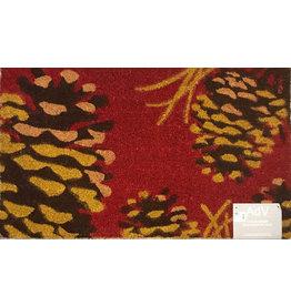 Pinecones Door Mat