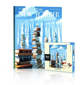 New York Puzzle Co New Yorker Puzzle - Bookopolis Mini 100 Piece