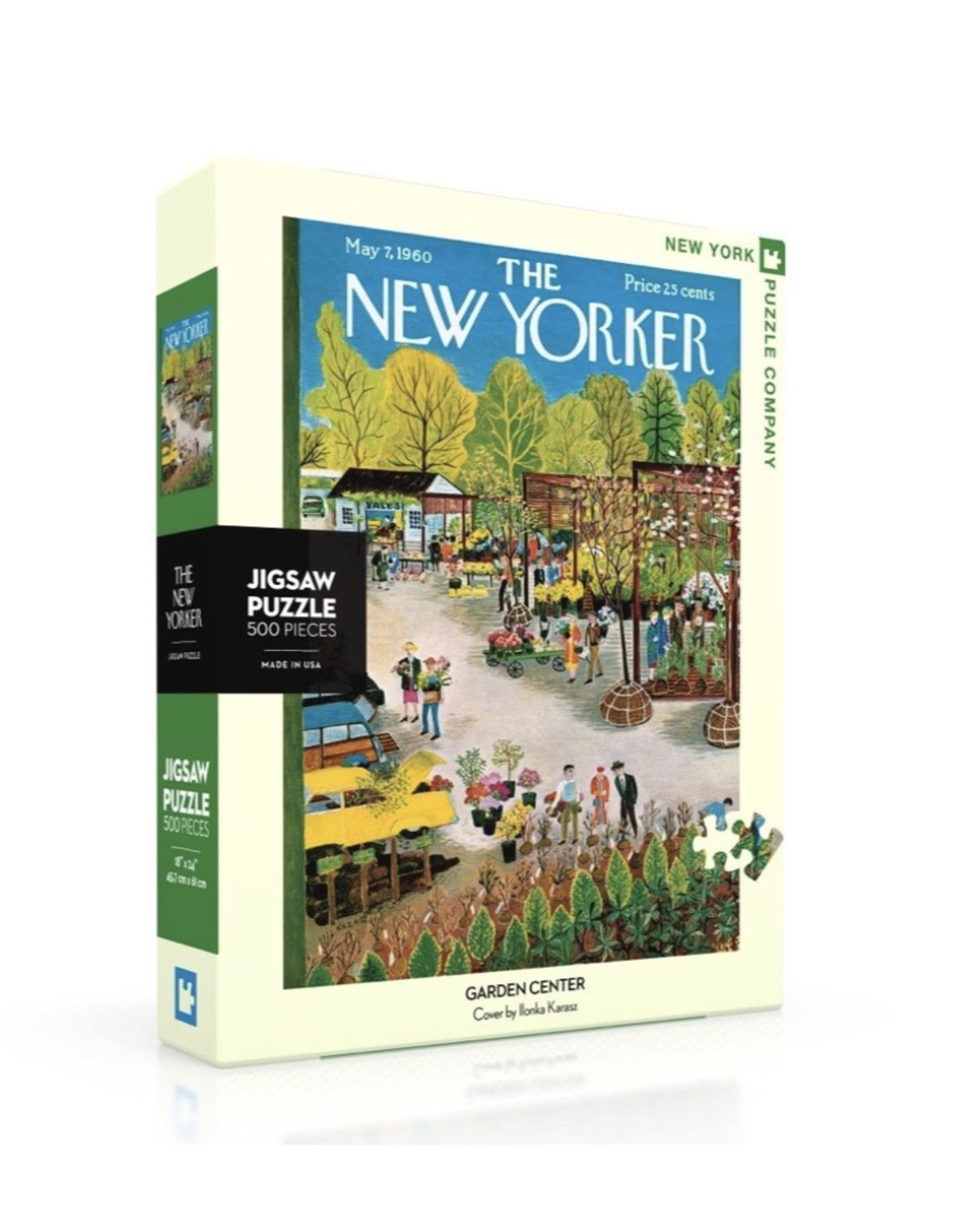 New Yorker Puzzle - Garden Centre 500 Pieces