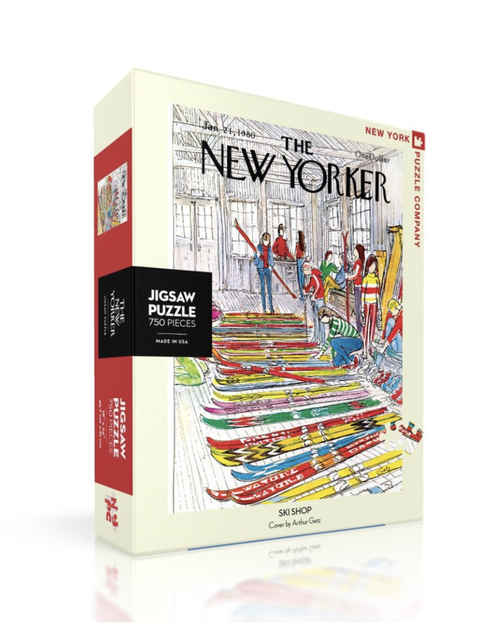 New York Puzzle Co New Yorker Puzzle - Ski Shop