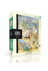 New York Puzzle Co New Yorker Puzzle - The Piano Lesson 1000 Pieces