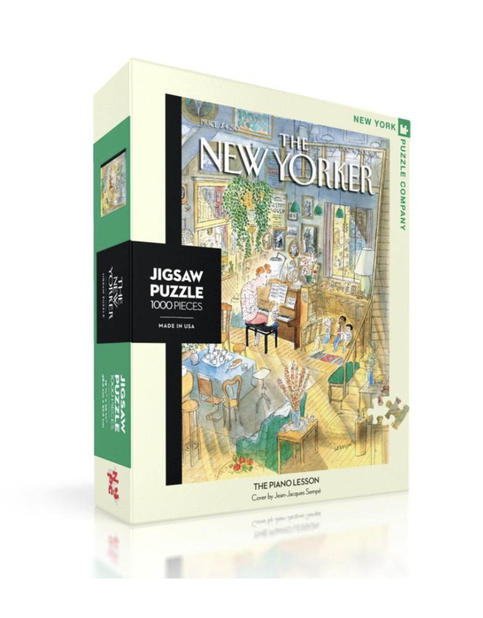 New Yorker Puzzle - The Piano Lesson 1000 Pieces