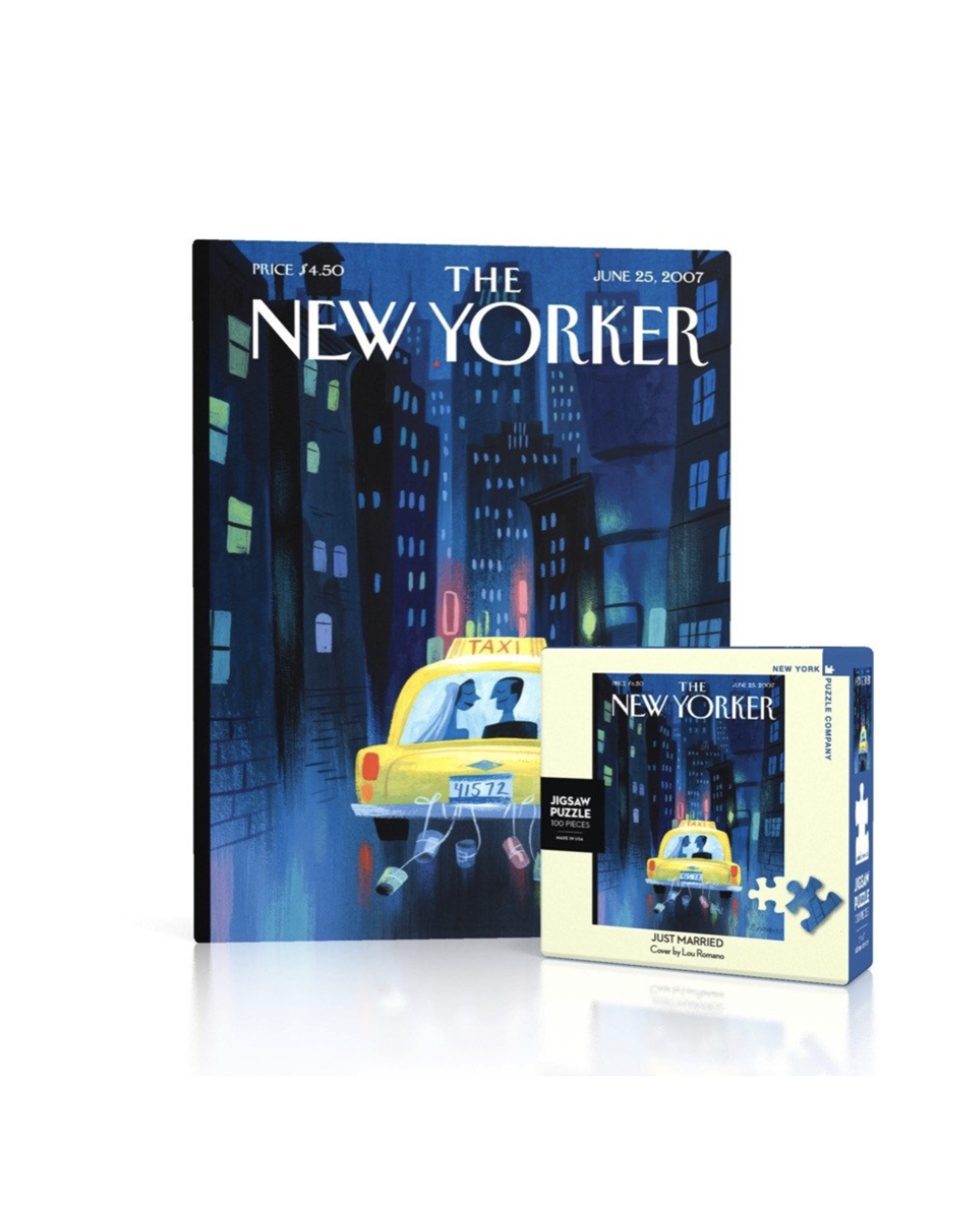 New Yorker Puzzle - Just Married Mini 100 piece