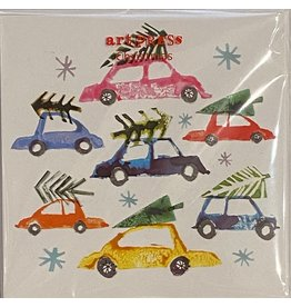 Christmas Cars Cello 5pack