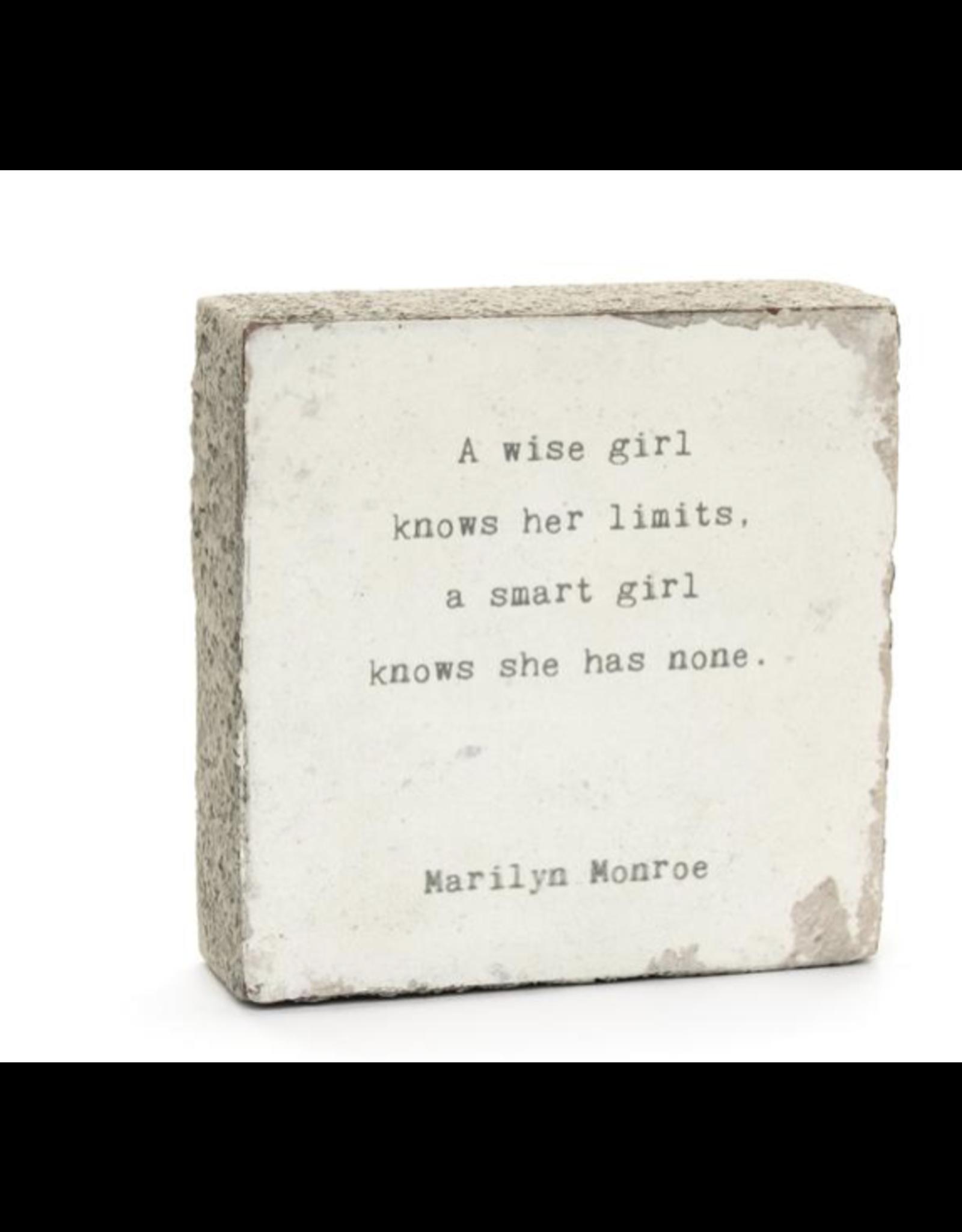 Wall Blocks - A Wise Girl