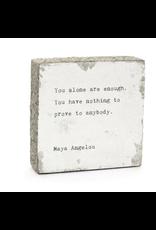 Wall Blocks - You Alone