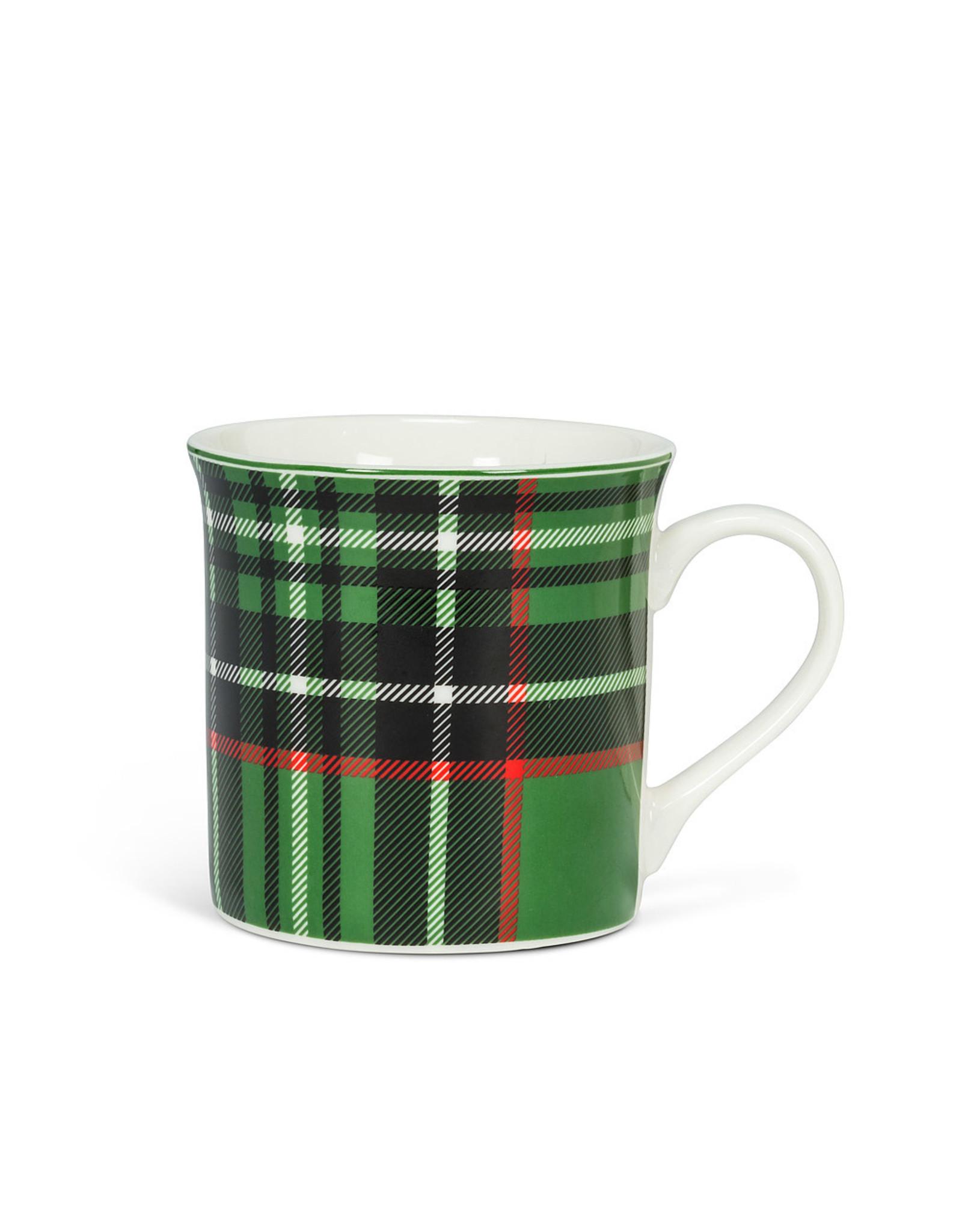 Green Tartan Mug