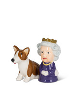 Queen and Corgi Salt & Pepper