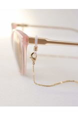 Lover's Tempo Everly Convertible Glasses/Mask Chain -Gold