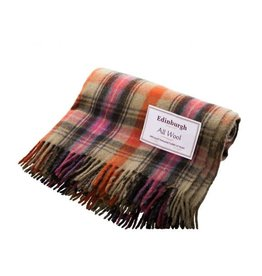 Highland Wool Throw - Bruce of Kinnaird