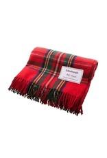 Highland Wool Throw - Royal Stewart