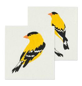 Set of 2 Dishcloths Finch
