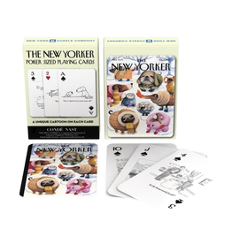 New York Puzzle Co Dog Cartoons Playing Cards