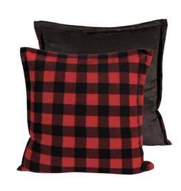 "Fleece Cushion 20x20""'"
