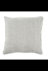 Lina Linen Cushion, Flint Grey, 24x24
