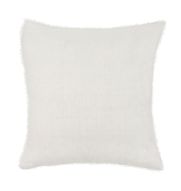 """Lina Linen Cushion, Natural 24""""x24"""""""