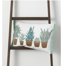 Sullivan's Succulent Cushion 20x12