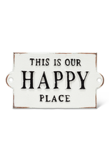 Happy Place Cast Sign