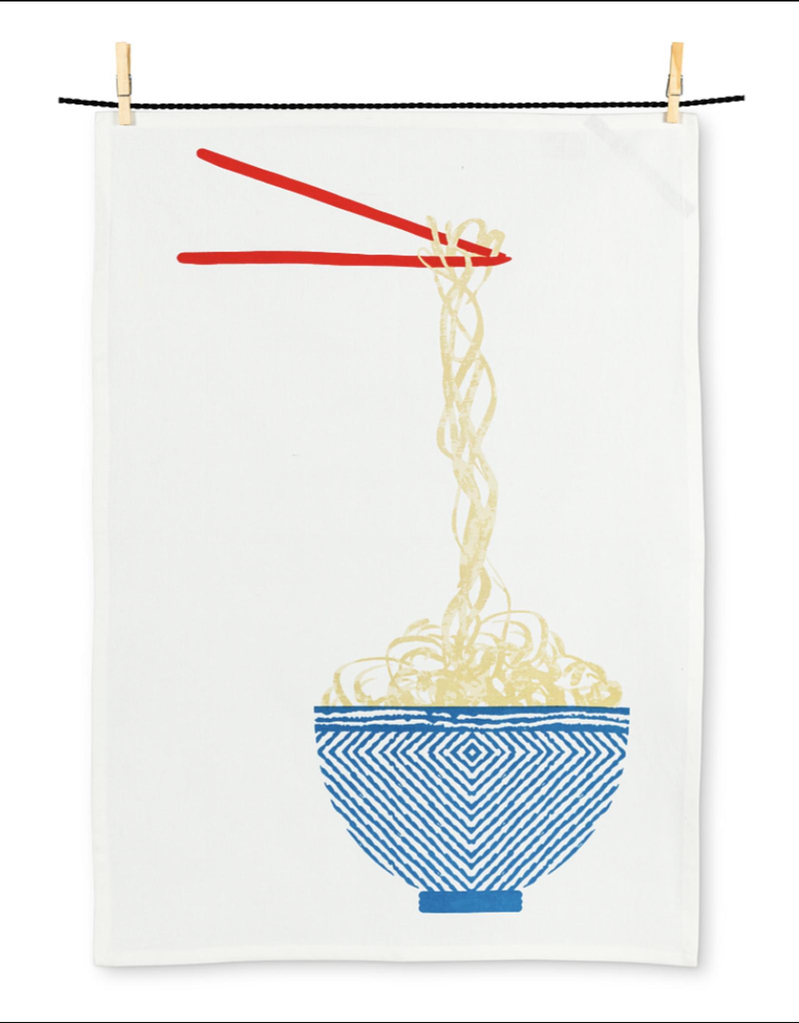 Noodle Bowl Tea Towel