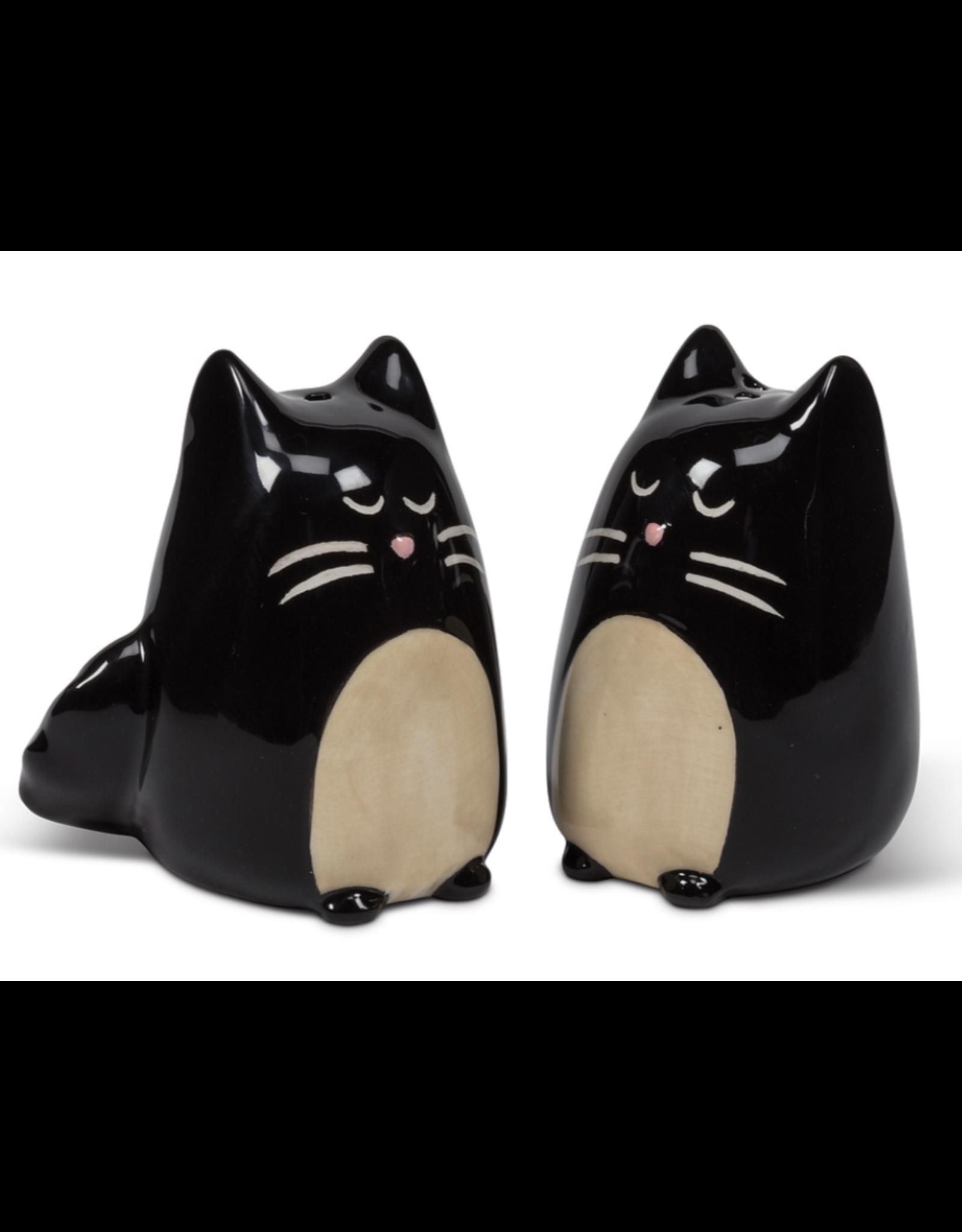 Simple Black Cat Salt & Pepper