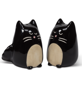 Simple Black Cat Salt & Pepper