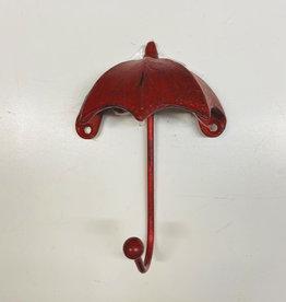 Umbrella Wall Hook Red