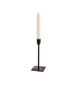 Bonita Leather Candlestick - Med