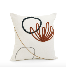 Bowers Embroidered Cushion 20x20