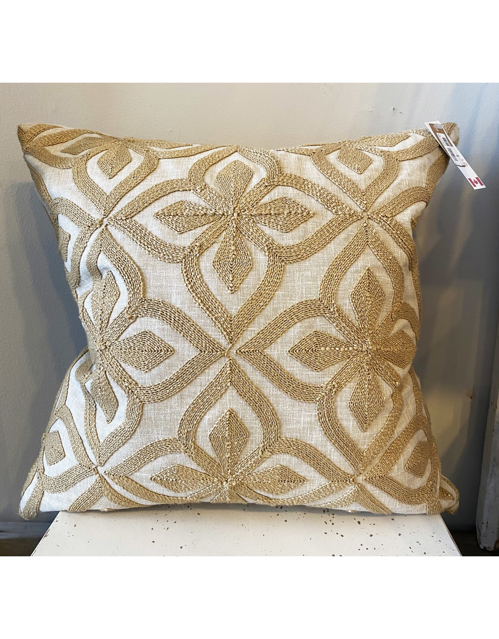 Bembe Flax Cushion - 20x20