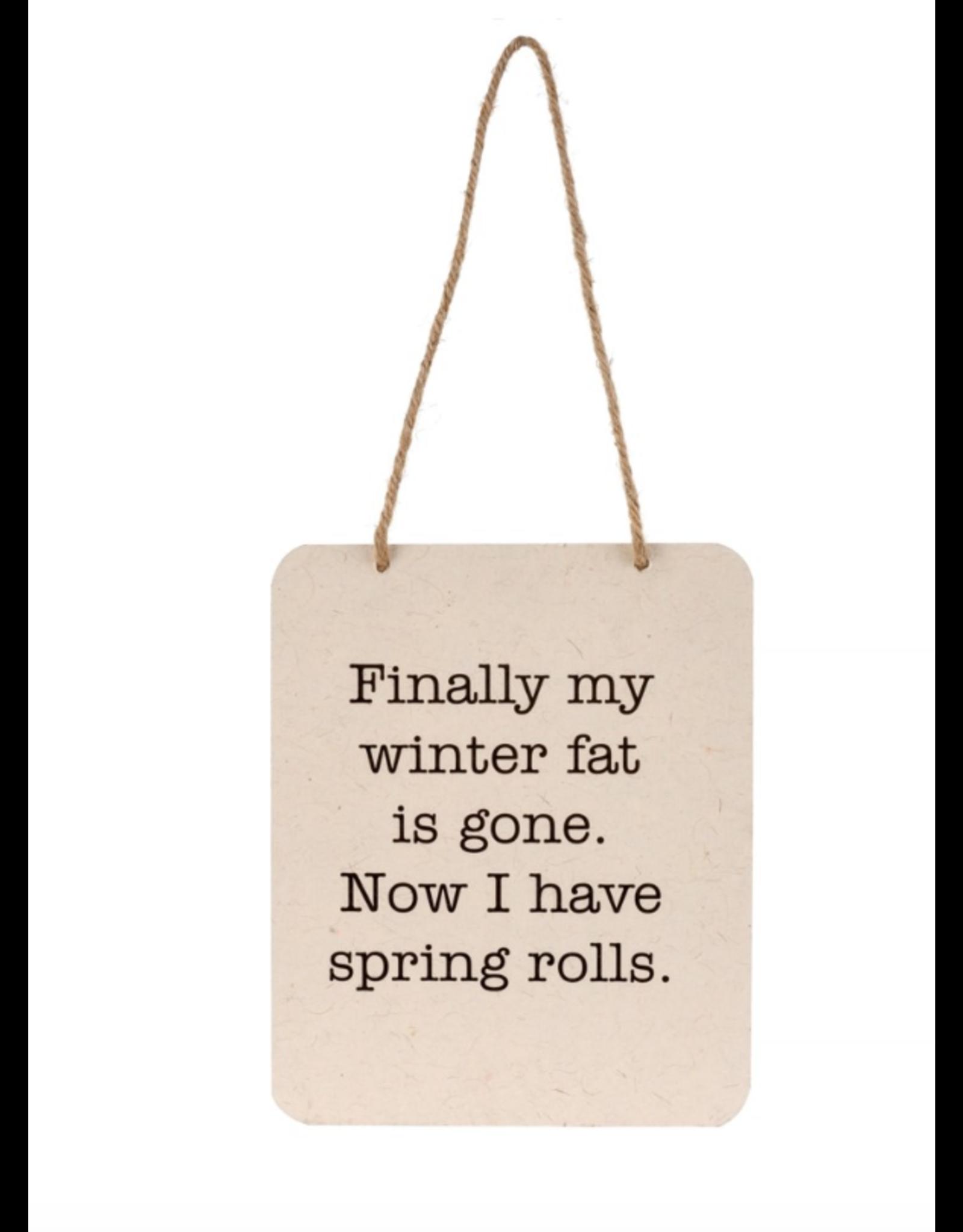 Spring Rolls Sign
