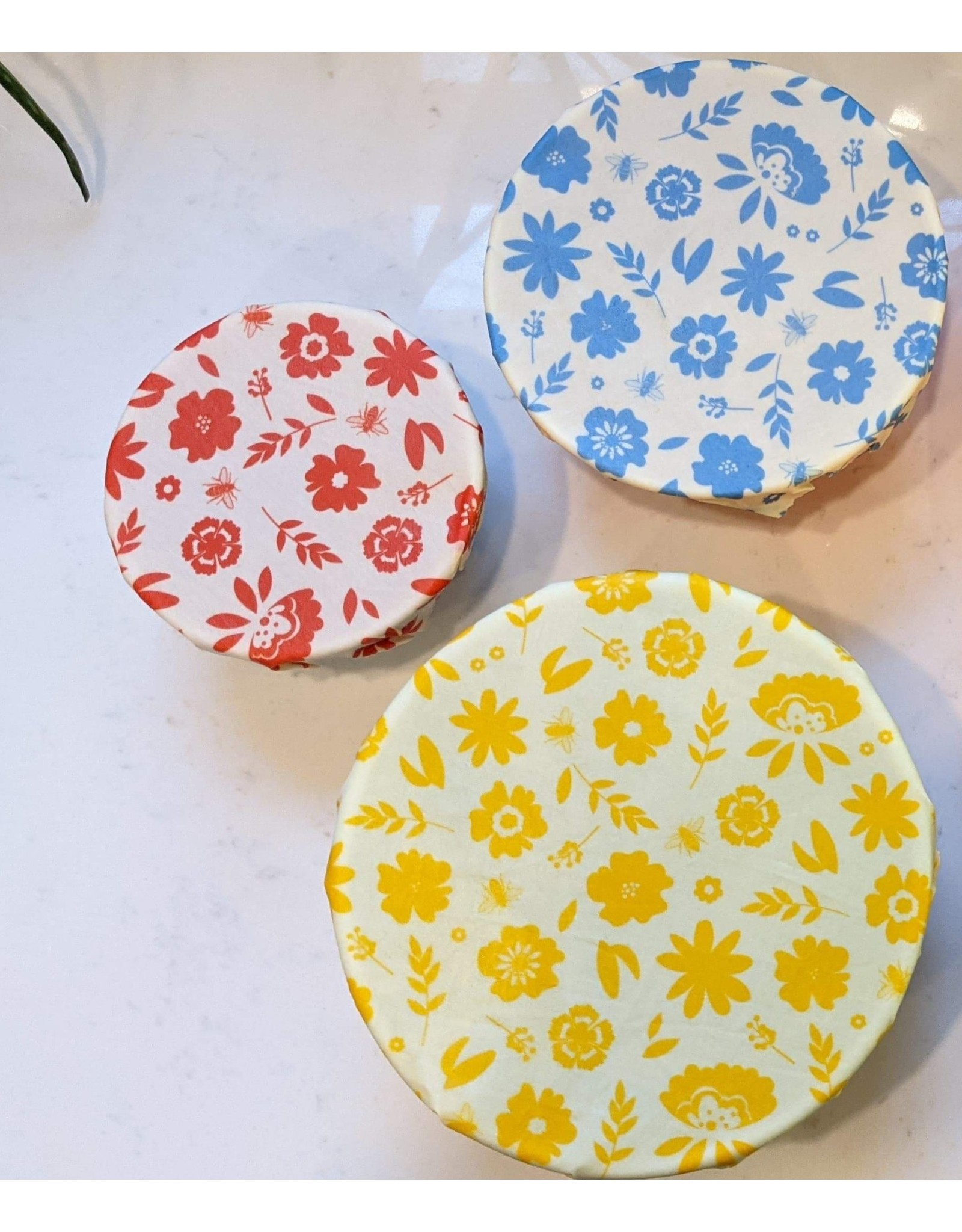 Beeswax Food Wraps (Set of 3)