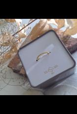 Nala Gold Vermeil Spinning Ball Ring