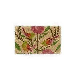 Birds with Flowers Doormat