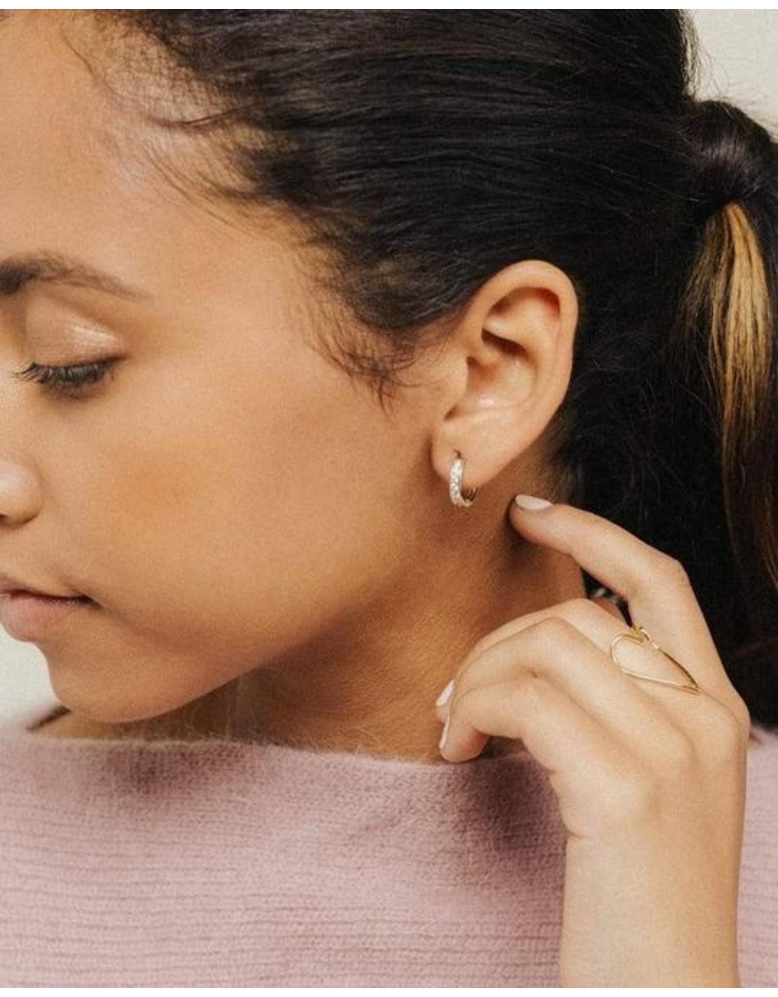Lover's Tempo Desi Hoop Earrings