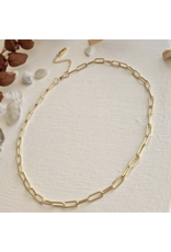 Montmartre Paperclip Chain Necklace