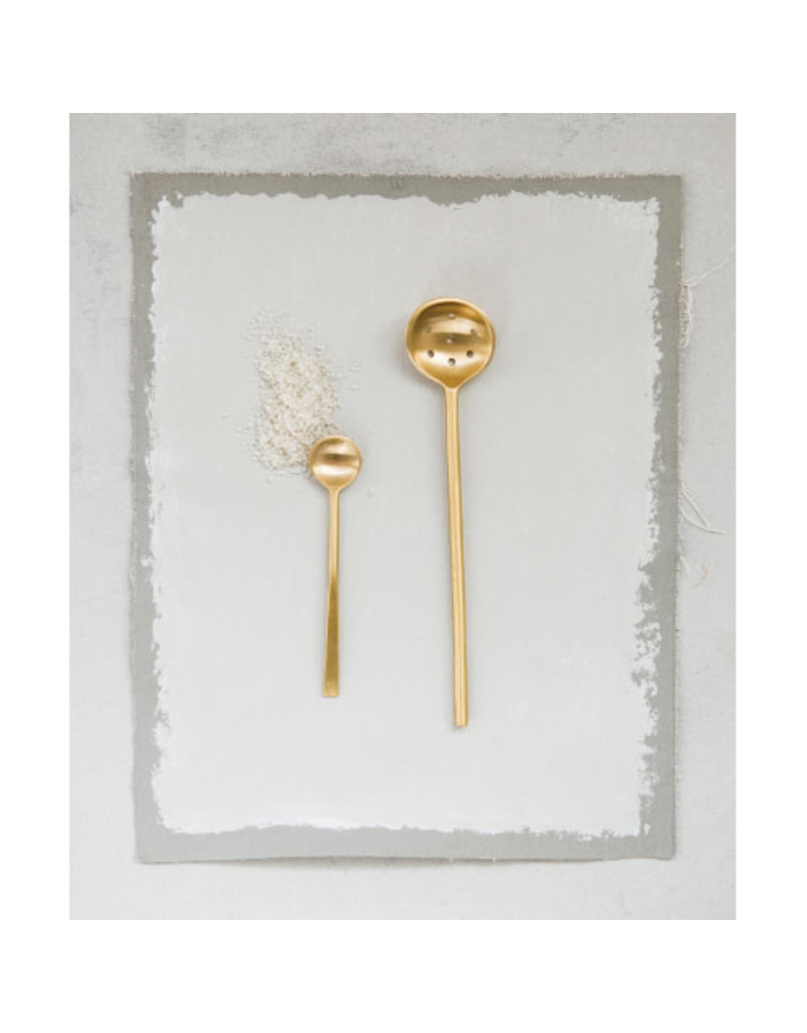 Brass Olive Spoon