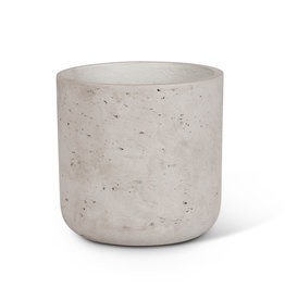 Quarry Planter Grey  Med 7""
