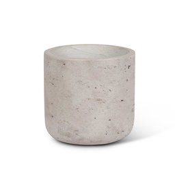 """Quarry Planter Grey Sm 4.5"""""""