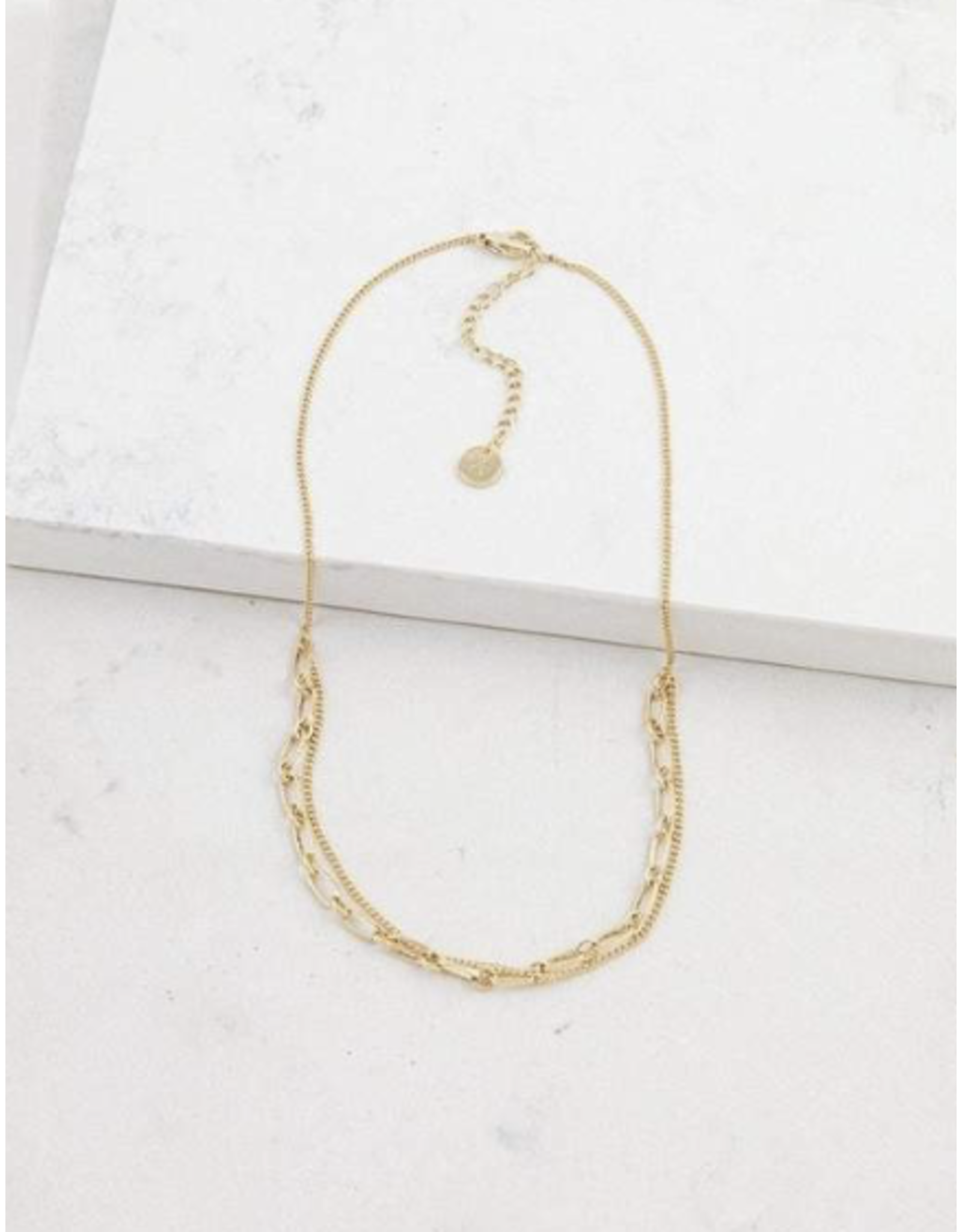 Lover's Tempo Aya Necklace - Gold