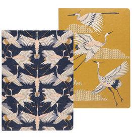 Flight Of Fancy Notebook Set of 2