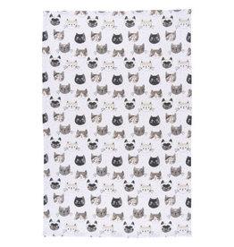 Cats Meow Tea Towel